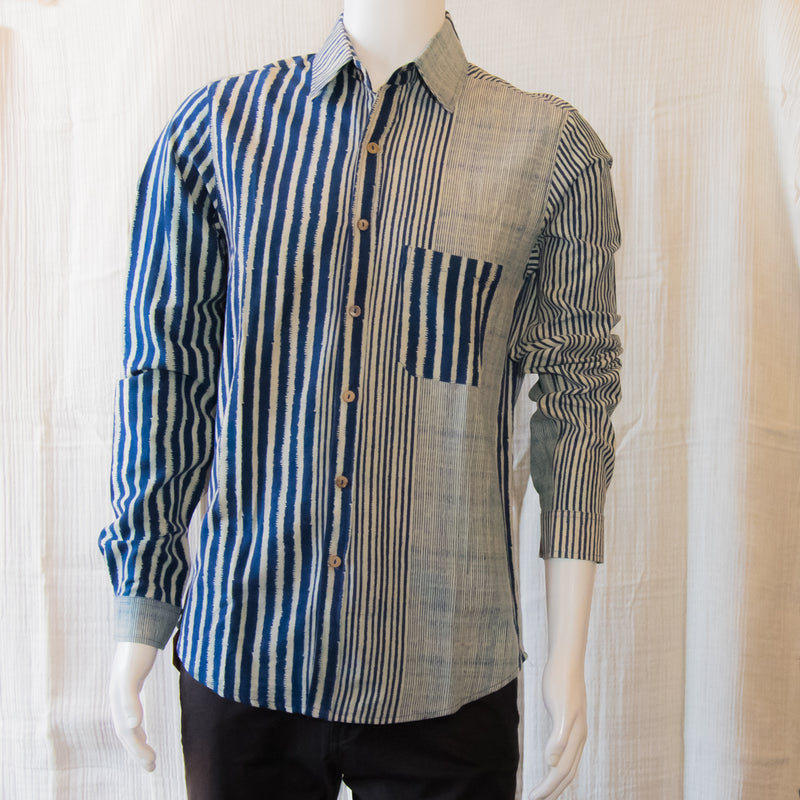 Indigo Long Sleeve Shirts | Indigo Lines