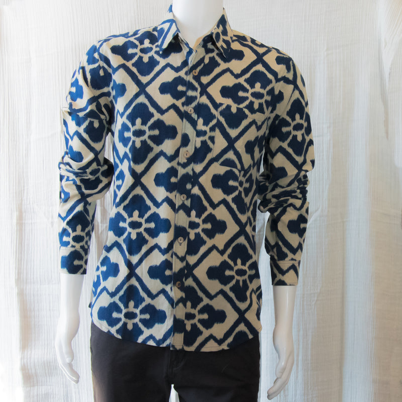 Indigo Long Sleeve Shirts | Indigo Flower