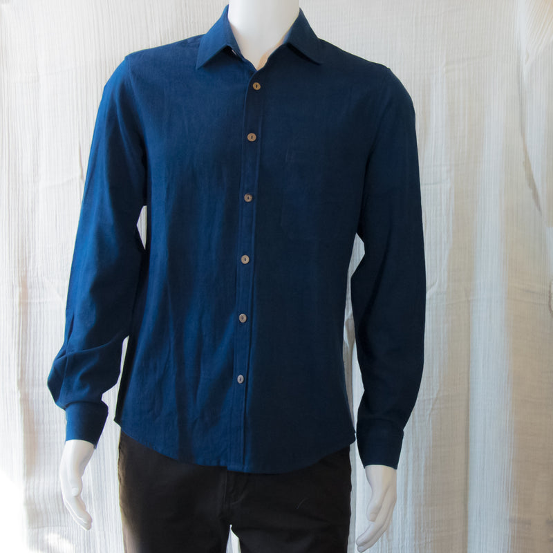 Indigo Long Sleeve Shirts | Indigo