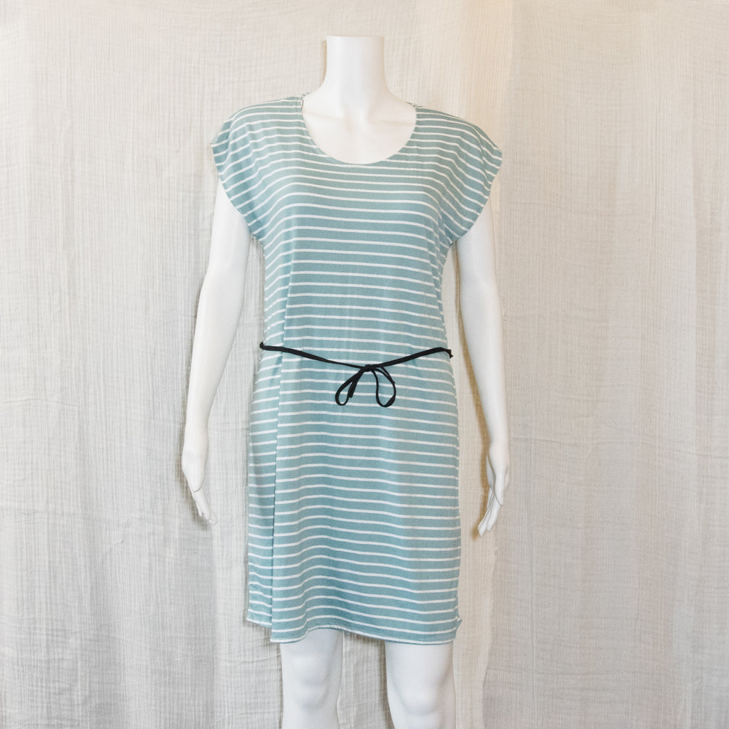 T-Shirt Dress | Lines Pattern