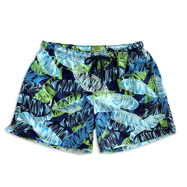Classic Botanical Sustainable Swim Trunks