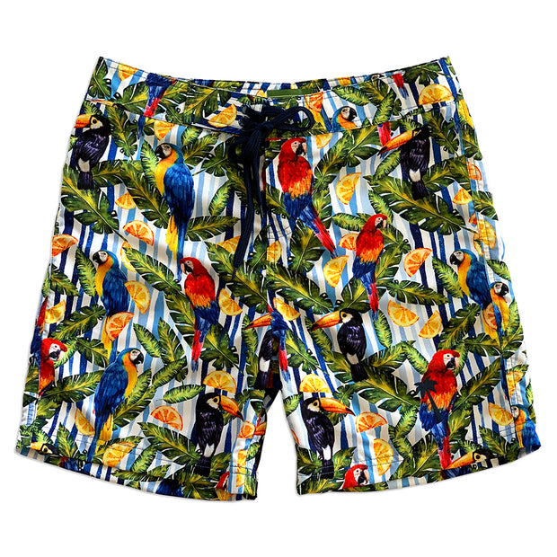 "Eco-friendly Surf Tropical Style 17"" Boardshort"