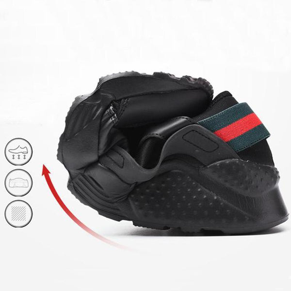 Men's Non-slip Mesh Lace-up Running Shoes