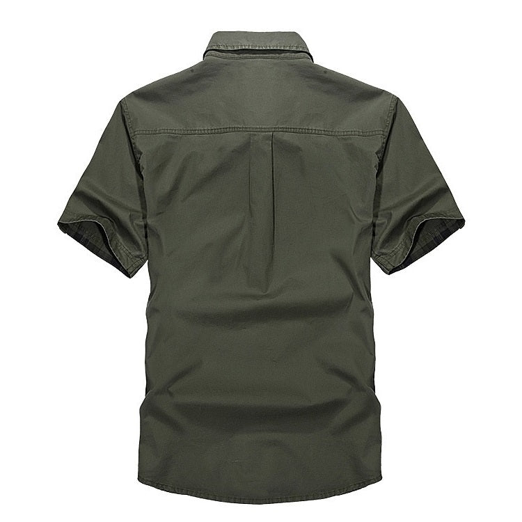 Outdoor Sport 100% Cotton Breathable Shirt