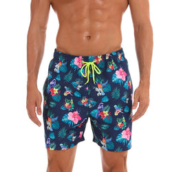 Colorful Flowers Beach Shorts