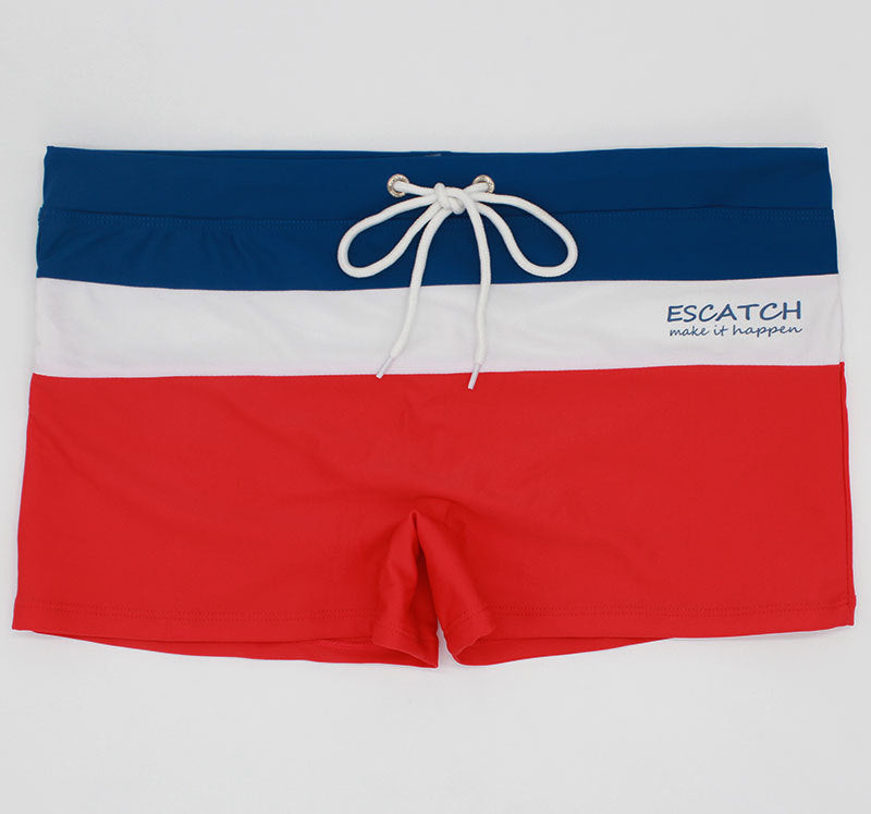 Men's Three Color Swim Trunks