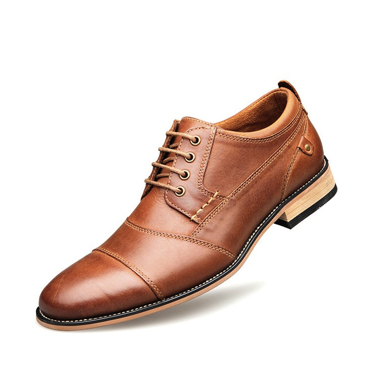 Genuine Leather Work Oxfords