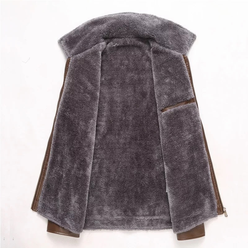 MEN'S Winter Warm JACKET WITH FUR LINING
