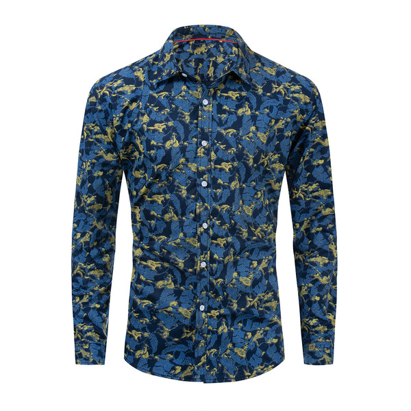 PREMIUM 100% COTTON PRINTED SHIRT