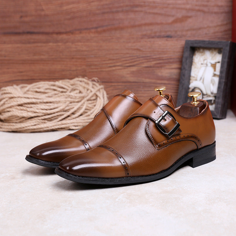 Men's Classic Monk Shoes