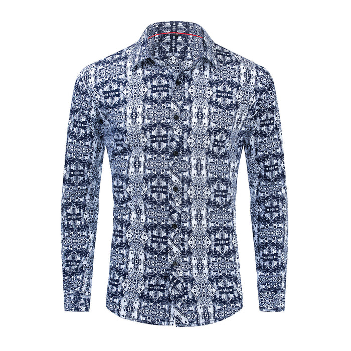 UniteMen Premium Poker Printed Shirt
