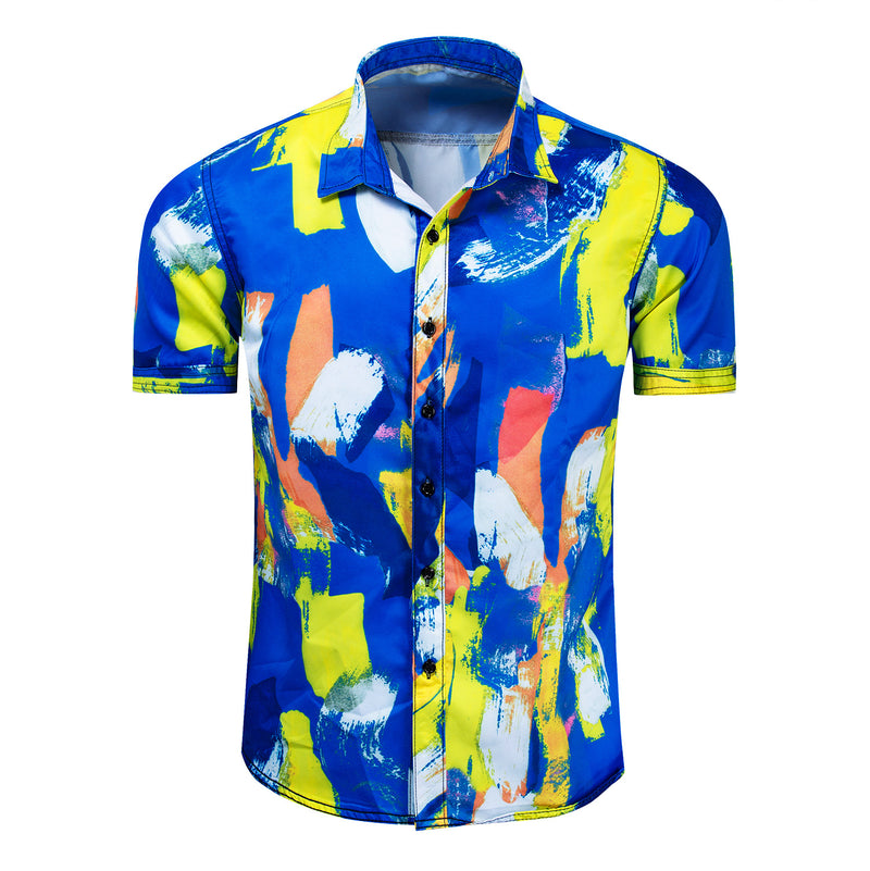 Gecman™️ Abstract Painting Shirt (DESIGNED BY KENZO)