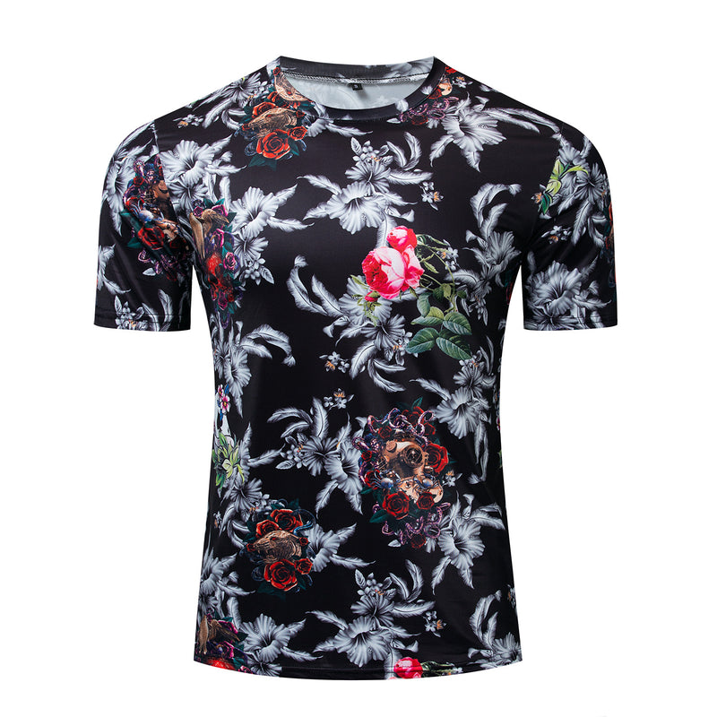 Gecman™️ Flower Printed T-shirt (2019 NEW FASHION)