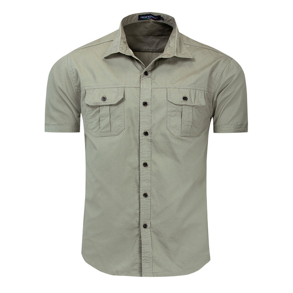 Men's Outdoor Military 100% Cotton Shirt