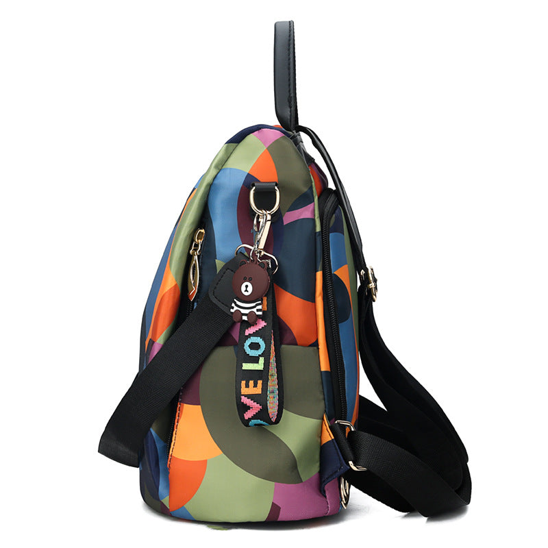 Casual Anti-theft Oxford Travel Backpack