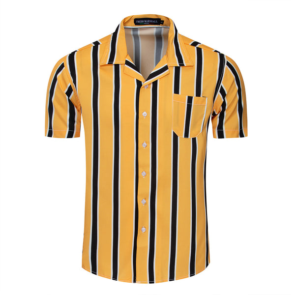 Men's Stripe Casual Shirt