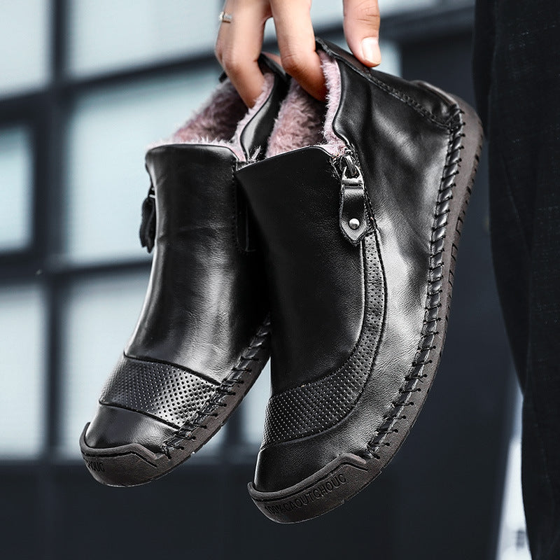 Men's Winter Slip-on Fur Shoes