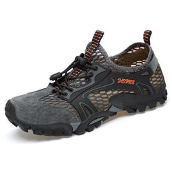 Men's Mesh Quick Dry Breathable Light Outdoor Hiking Water Shoes