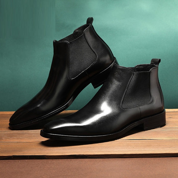 Men's Classic Leather Boots