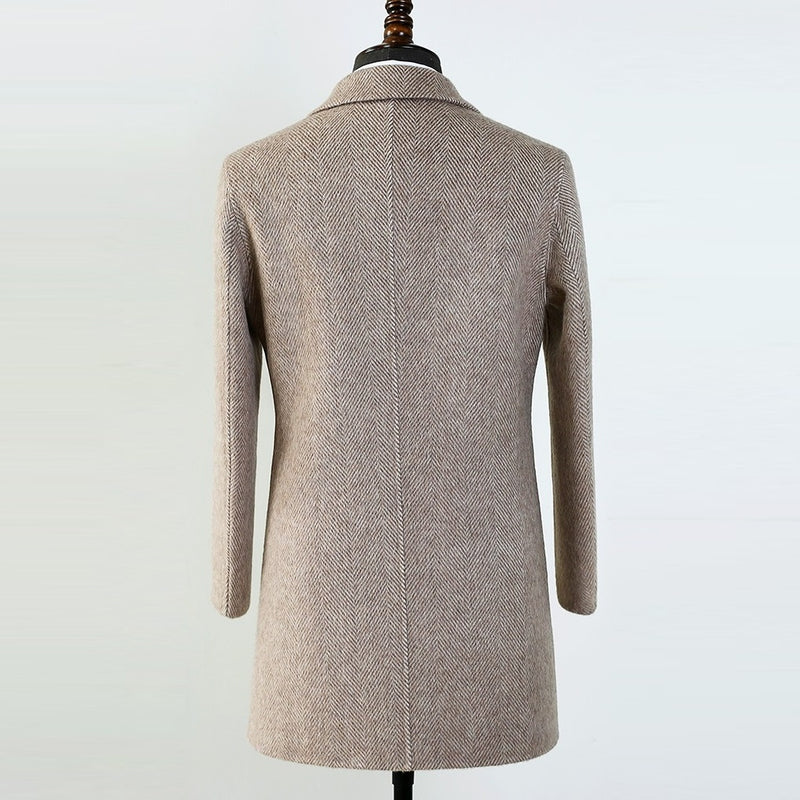 Top Double-Faced 80% Wool Coat
