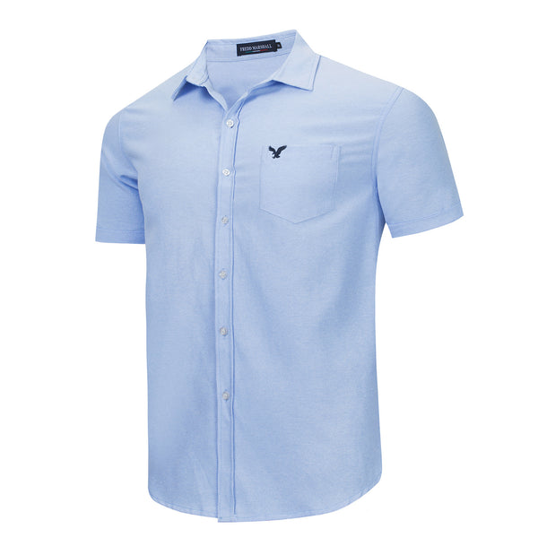Men's 100% Cotton Business Casual Shirt