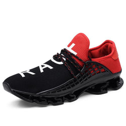 Pearlyo_Lace-up Flat Athletic Sneakers for Men