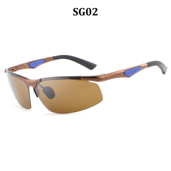 Sports Polarized Sunglasses Running Baseball Cycling Fishing Glasses Durable Frame