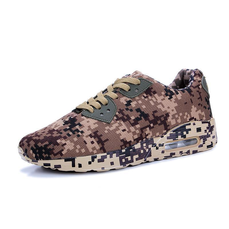 Pearlzone_Men's Large Size Air Cushion Camouflage Shoes Sports Shoes Running Shoes Outdoor Casual Shoes 115427