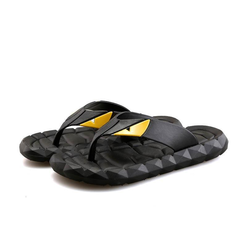 Men's Casual Beach Flexible Colorful Slippers