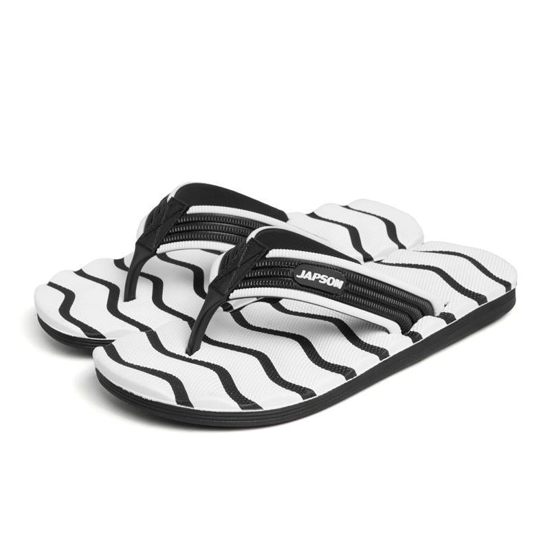 Men Stripe Soft Non-Slip Slippers