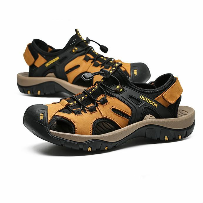 Pearlzone_Men's Outdoor Lightweight Sports Hiking Sandals