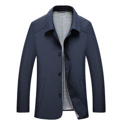 British Men's Spring Thin Fitted Jacket