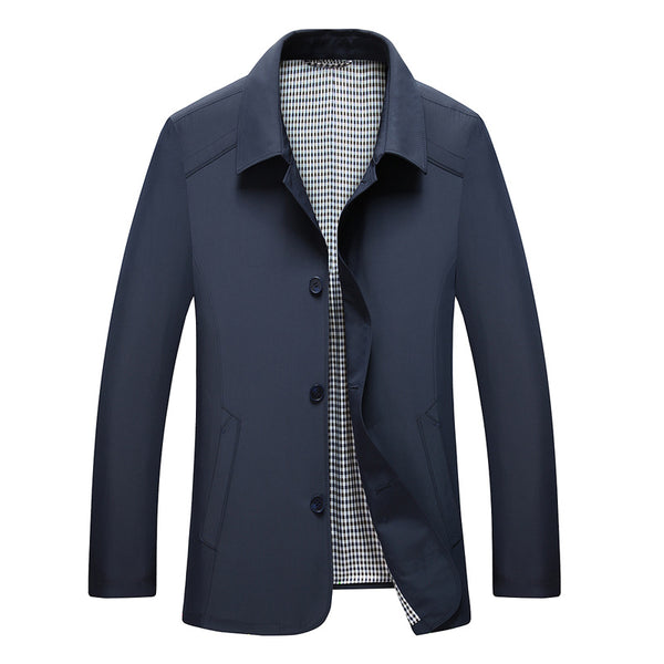 Premium British Men's Fitted Jacket