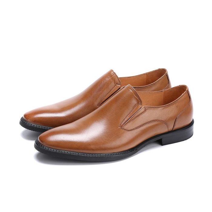 UniteMen Men's Premium Genuine Leather Loafers