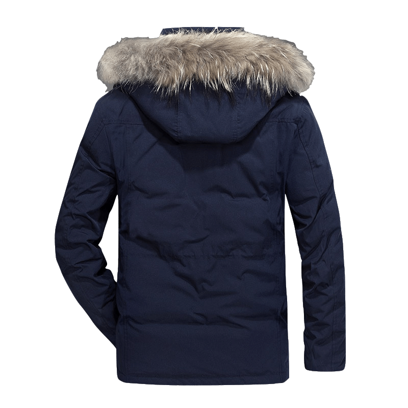 Men's Thick Hooded Duck Down Jacket