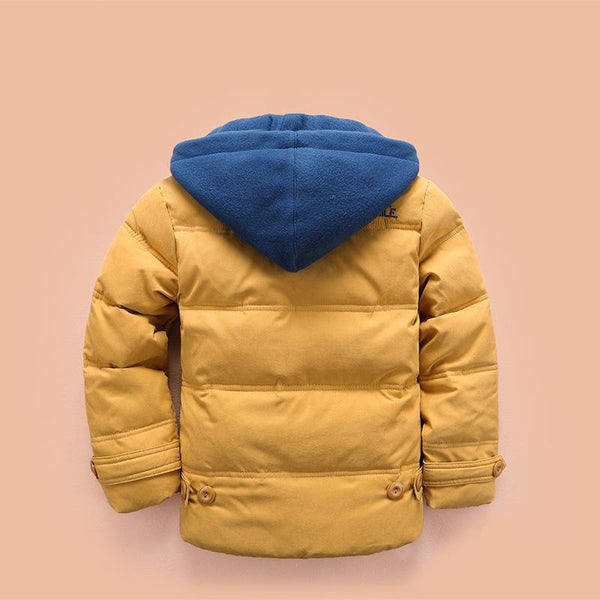 Boys And Girls Winter Latest Thicken Hooded Warm Cotton Jacket