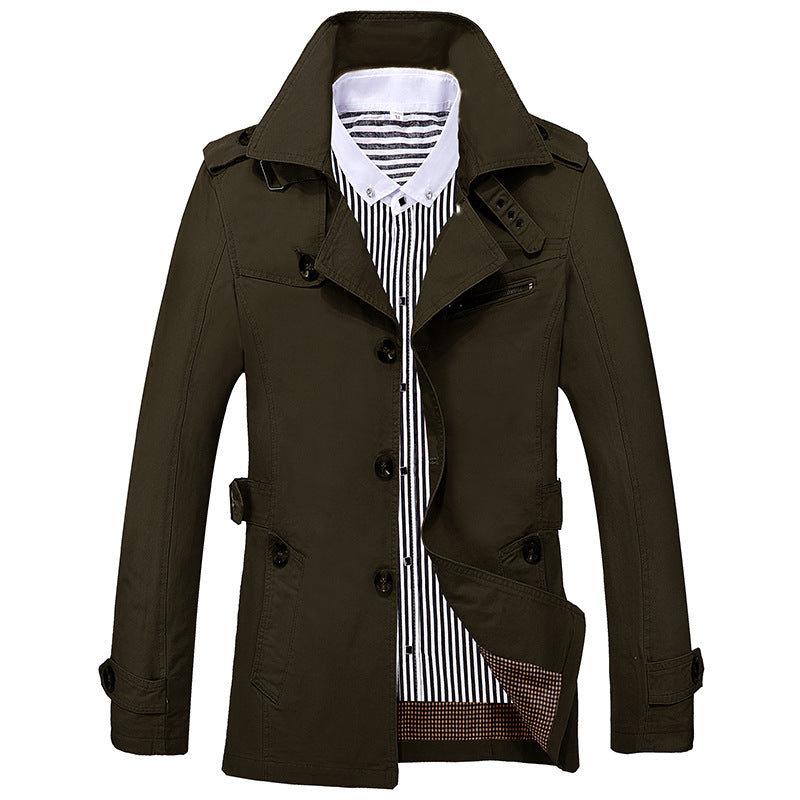 Men's 100% Cotton Business Jacket