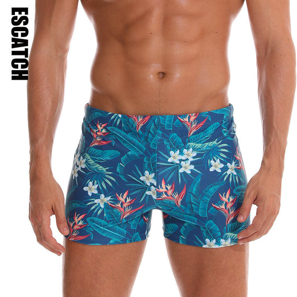 Men's Leaf Swim Trunks (Three Pieces)