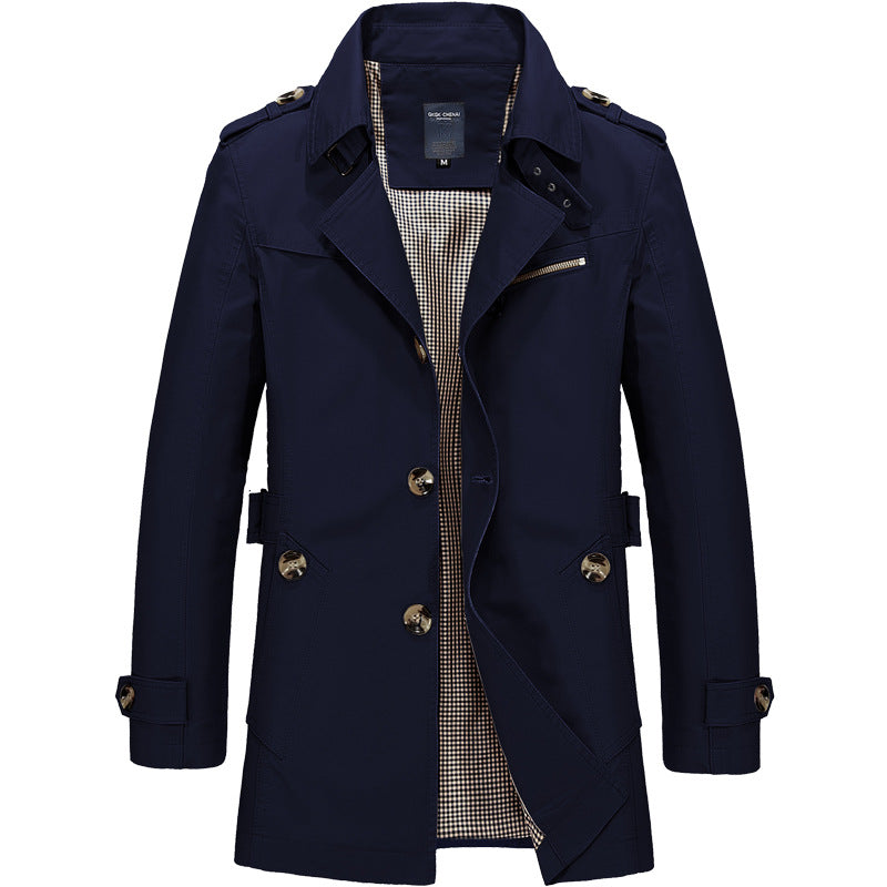 British Men's Business Cotton Jacket