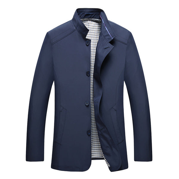 British Men's Spring Thin Fitted Jacket #002