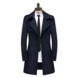 Men's Business Fitted Double-Breasted Jacket