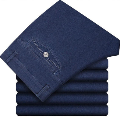 Men's Comfort Flex Waist Thicken Jean