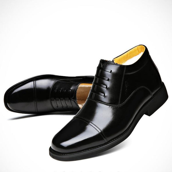 GK Men's Warm Leather Loafers