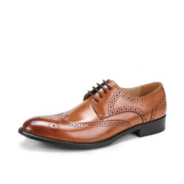 Men's Classic British Style Brogue Shoes