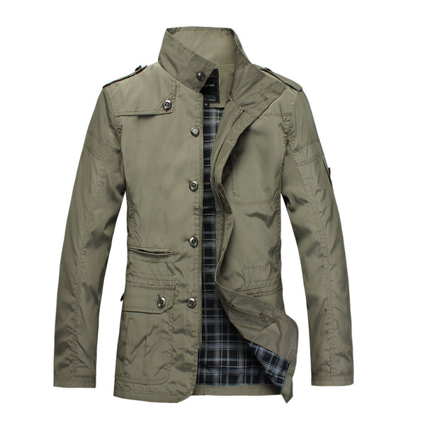 Men's Business Casual Cotton Jacket