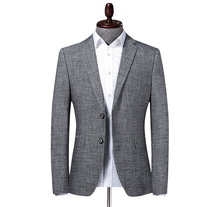 UniteMen Spring Autumn Men's Fitted Blazer