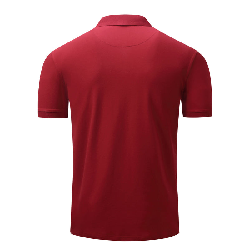 MEN'S 100% COTTON SHORT SLEEVES POLO SHIRT #004