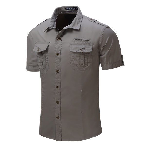 PREMIUM 100% COTTON WORK SHIRT