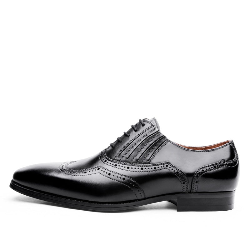 Classic Genuine Leather Brogue Shoes