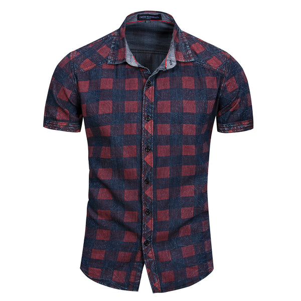 Premium 100% COTTON SHORT SLEEVES Work SHIRT